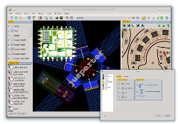 screenshot GDSII Editor